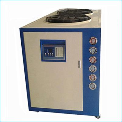 冷水机制冷系统发生堵塞表现症状有哪些