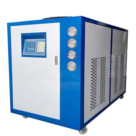 如何处理工业冷水机内结冰所产生的故障?需要哪些保护措施?