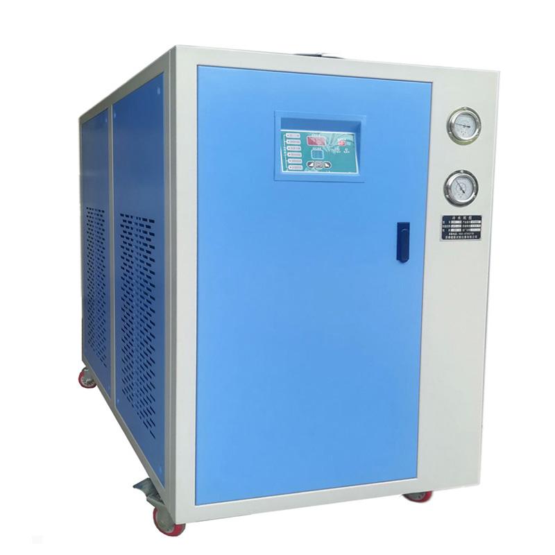 PVC挤出线辊筒降温冷水机