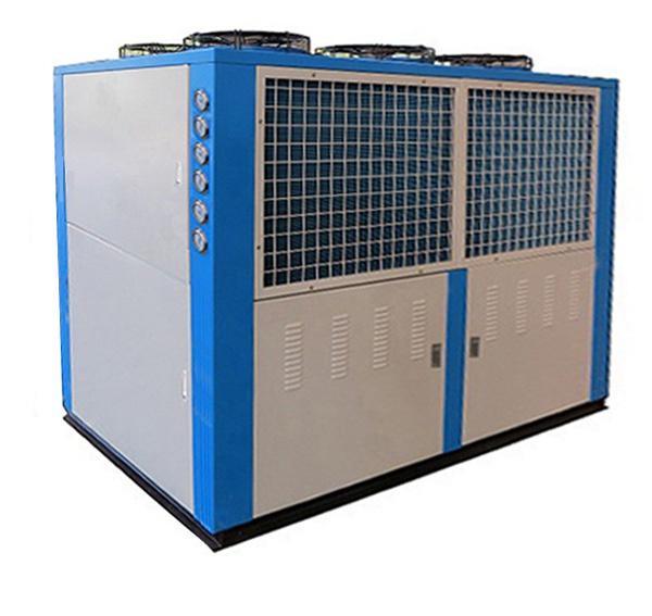 风冷式低温冷冻机