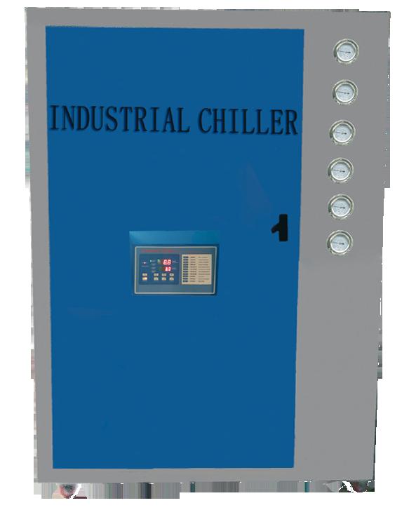 压延机PVC压延膜生产线冷水机冷却原理?