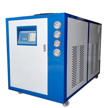 螺杆式工业冷冻机组的主要特点以及结构紧凑